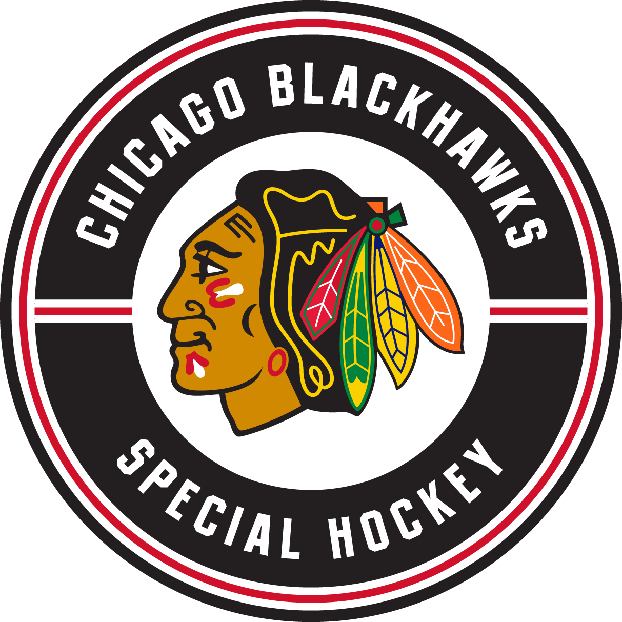 Chicago Blackhawks Special Hockey